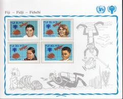 FIDSCHI  399-402, Postfrisch **, UNICEF, Internationales Jahr Des Kindes, 1979 - Fiji (1970-...)