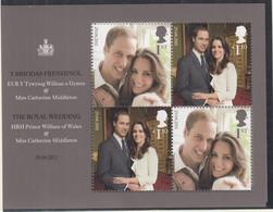 GROSSBRITANNIEN  Block 66, Postfrisch **, Hochzeit Von Prinz William Und Catherine Middleton, 2011 - Nuevos