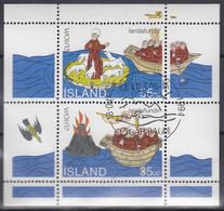 ISLAND  Block 15, Gestempelt, Europa CEPT: Entdeckungen Und Erfindungen, 1994 - Blocks & Kleinbögen