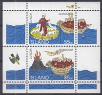 ISLAND  Block 15, Postfrisch **, Europa CEPT: Entdeckungen Und Erfindungen, 1994 - Blocks & Kleinbögen