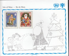 ISLE OF MAN  157-158, Postfrisch **, UNICEF, Internationales Jahr Des Kindes, 1979 - Isle Of Man