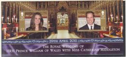 ISLE OF MAN  Block 79, Postfrisch **, Hochzeit Von Prinz William Und Catherine Middleton, 2011 - Isle Of Man