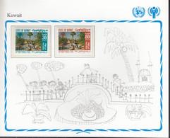 KUWAIT  818-819, Postfrisch **, UNICEF, Internationales Jahr Des Kindes, 1979 - Kuwait