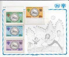 LIBERIA  1090-1093, Postfrisch **, UNICEF, Internationales Jahr Des Kindes, 1979 - Liberia