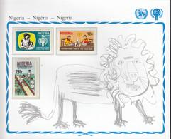 NIGERIA 359-361, Postfrisch **, UNICEF, Internationales Jahr Des Kindes, 1979 - Nigeria (1961-...)