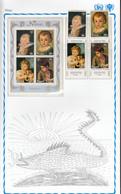 NIUE  238-241, Block 15, Postfrisch **, UNICEF, Internationales Jahr Des Kindes, 1979 - Niue