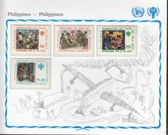 PHILIPPINEN  1315-1318, Postfrisch **, UNICEF, Internationales Jahr Des Kindes, 1979 - Philippines