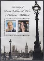 SALOMON INSELN  Block 105, Postfrisch **, Hochzeit Von Prinz William Und Catherine Middleton, 2011 - Solomon Islands (1978-...)