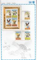 SAMBIA  205-208, Block 5, Postfrisch **, UNICEF, Internationales Jahr Des Kindes, 1979 - Zambia (1965-...)