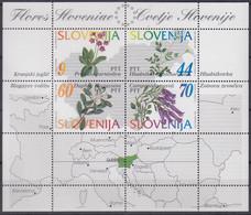 SLOWENIEN Block 1, Postfrisch **, Einheimische Pflanzen, 1994 - Slovenia