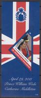ST.VINCENT Und GRENADINEN  Block 714, Postfrisch **, Hochzeit Von Prinz William Und Catherine Middleton, 2011 - St.Vincent E Grenadine