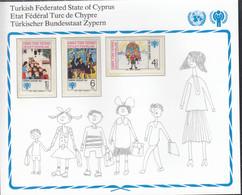ZYPERN  Türk. 77-79, Postfrisch **, UNICEF, Internationales Jahr Des Kindes, 1979 - Unused Stamps