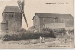 CPA Industrie   Chatignonville (91) Le Superbe Moulin à Vent D'un Très Petit Village   Ed Rameau - Windmills