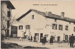 Hendaye  64  Un Coin Du Bas-Quartier Tres Animé Buvette Et Restaurant  RELSENIA - Hendaye
