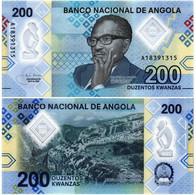 ANGOLA 200 KWANZAS 2020 P NEW - UNC - Angola