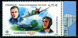 FRANCE PA N° 85a  Pierre CLOSTERMANN - Claire ROMAN BDF DROIT NEUF ** - 1960-.... Nuovi