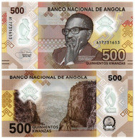 ANGOLA 500 KWANZAS 2020 P NEW - UNC - Angola