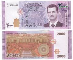Syria - 2000 Pounds 2018 UNC Lemberg-Zp - Syria