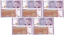 Syria - 5 Pcs X 2000 Pounds 2018 UNC Lemberg-Zp - Syria