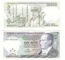 Turkey - 10000 Lirasi 1970 Pick 199c UNC Lemberg-Zp - Turkey
