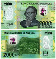 ANGOLA 2000 KWANZAS 2020 P NEW - UNC - Angola
