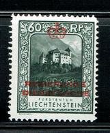 Liechtenstein Dienstmarken 1930 Michel 7B MNH - Official