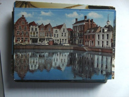 Nederland Holland Pays Bas Goes Met Auto's Langs De Kleine Kade - Goes