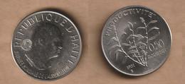 HAITI    50 Centimes (FAO) 1981  F.A.O. Copper-nickel • 9.924 G • ⌀ 29 Mm KM# 148 - Haiti