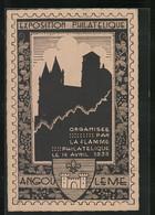 AK Angoulême, Organisee Par La Flamme Philatelique Le 14 Avril 1935 - Stamps (pictures)