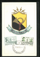 AK Argentina, Correosy Telecomunicaciones, Ausstellung 1960 - Stamps (pictures)