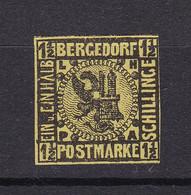 Bergedorf - 1861/67 - Michel Nr. 3 ND - Ungebr. - Bergedorf