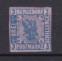 Bergedorf - 1861/67 - Michel Nr. 4 ND - Ungebr. - Bergedorf