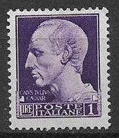 REGNO D'ITALIA  1929 IMPERIALE SASS. 252A MNH XF - Mint/hinged