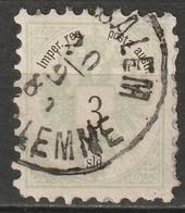 Austria Offices Turkey 1883 Sc 9  Used Jerusalem CDS - Gebraucht