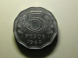 Argentina 5 Pesos 1962 - Argentina