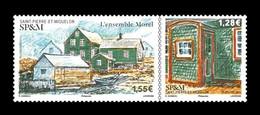 St. Pierre And Miquelon 2021 Mih. 1354/55 Restoration Work In Morel Architectural Complex MNH ** - Nuovi