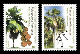 French Polynesia 2021 Mih. 1456/57 Flora. Palm Trees MNH ** - Unused Stamps