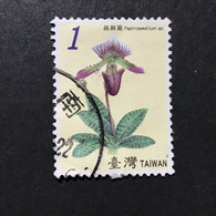 ◆◆◆Taiwán (Formosa)  2007  Orchids , Sc #3751  ,   $1     USED  AB5623 - Usati