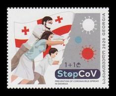 Georgia 2021 Mih. 745 Prevention Of COVID-19 Coronavirus MNH ** - Georgia