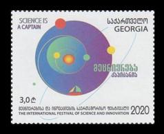 Georgia 2021 Mih. 748 International Festival Of Science And Innovation MNH ** - Georgia