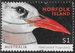 Norfolk Island 2016 Seabirds $1 Good/fine Used [40/32736A/ND] - Norfolk Island