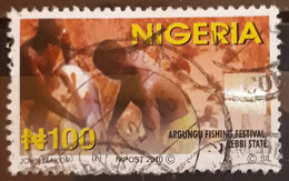 NIGERIA 2010 Definitive Issue - Hologram Stamps. USADO - USED. - Nigeria (1961-...)