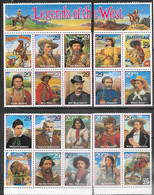 US  1994   Sc#2869   29c  Legends Of The West Set Of 20  MNH  Face Value $5.80 - Unclassified