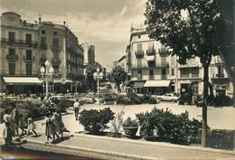 "CPSM ESPAGNE ""Figueras, Rambla Et Avenue G. Mola"" - Barcelona"