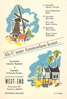 "CPSM  PAYS BAS ""Amsterdam, Café Restaurant"" - Amsterdam"