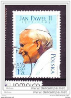 Pologne, Poland, Pape Jean-Paul II Pope - Popes