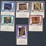 ISRAEL 1966 ANTIQUITES AVEC TABS  SCOTT  N°323/28  NEUF MNH** - Archaeology