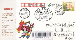 China 2020 Sichuan Shifang Fight Epidemic(Covid-19) Entired Postal Card D - Postcards