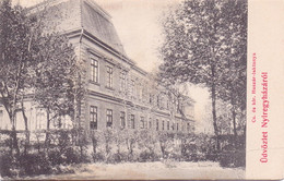 Seltene  Alte  AK   NYIREGYHAZA / Ungarn   - Husaren Kaserne -  1905 Gelaufen - Hungary