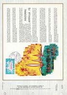 ANDORRE DOCUMENT FDC 1975 ARPHILA 75 - Covers & Documents